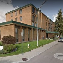 outside view of vitalaire Edmonton CPAP clinic
