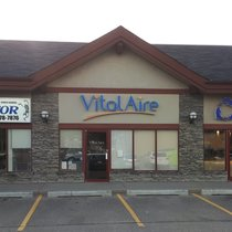 outside view of Calgary Macleod trail cpap clinic