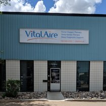 outside view of vitalaire Edmonton Oxygen clinic