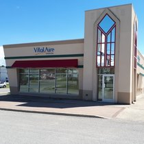 Outside view of Vitalaire Timmins CPAP Clinic
