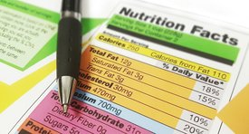 How to read the nutrition label