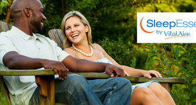 You could win a restful getaway to a destination of your choice by buying 2 canisters of CPAP wipes
