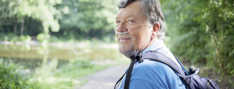 Living with oxygen therapy
