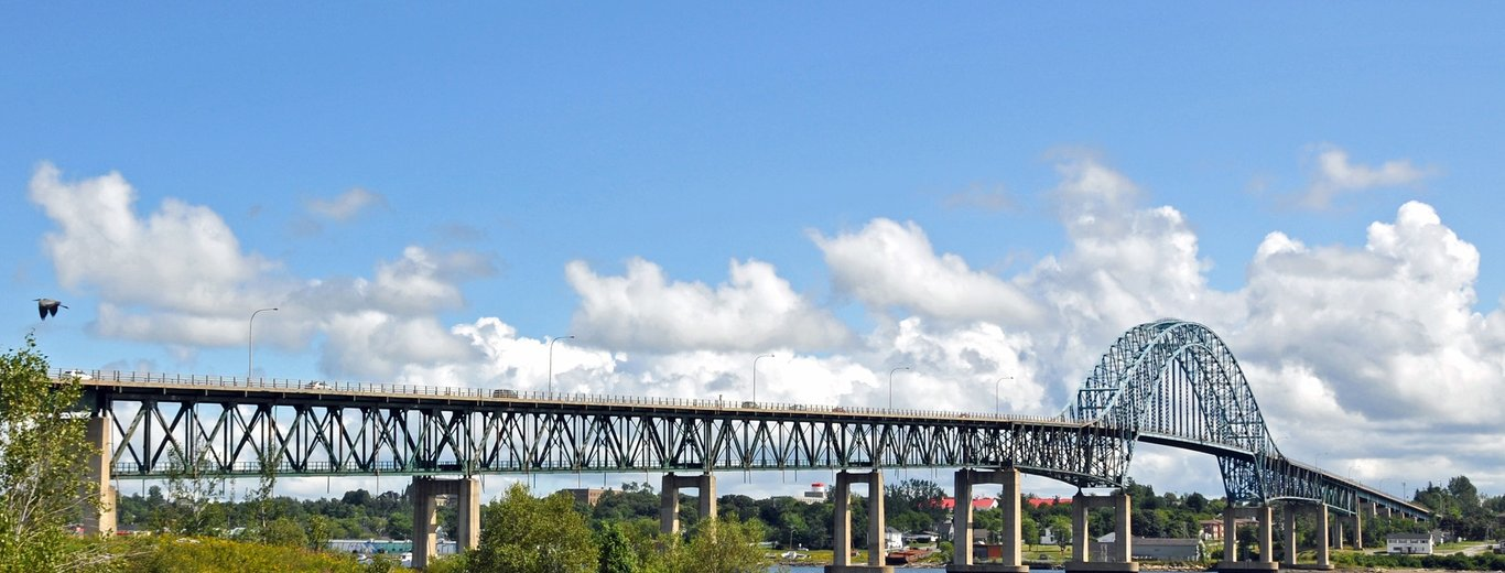 Centennial Bridge in Miramichi. Photo obtained from: https://flic.kr/p/8xgq9v